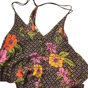 Ecote Top black with flower