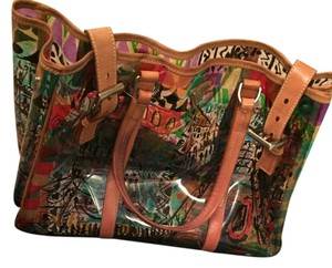 Prada Vinyl Leather Venice Tote in Print