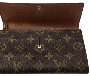 Louis Vuitton Louis Vuitton Monogram Sarah International Portefeuille Long Wallet