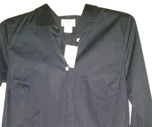 J.Crew Button Down Shirt Dark Navy Blue