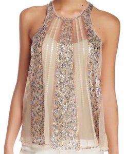 Romeo & Juliet Couture Top Beige