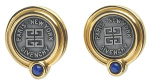 Givenchy GIVENCHY Logo Designer Earrings Posts