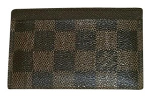 Louis Vuitton Louis Vuitton DE Damier Ebene business card or credit card holder