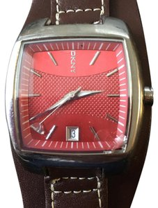 DKNY Red Orange Watch