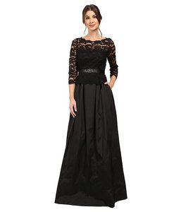 Adrianna Papell Ball Gown Lace Dress
