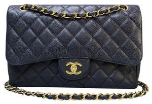Chanel Caviar Jumbo Shoulder Bag