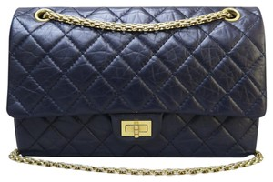 Chanel Reissue Calfskin 226 Double Flap Shoulder Bag
