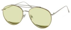 Gentle Monster ODD ODD SILVER FRAME WITH YELLOW LENSES
