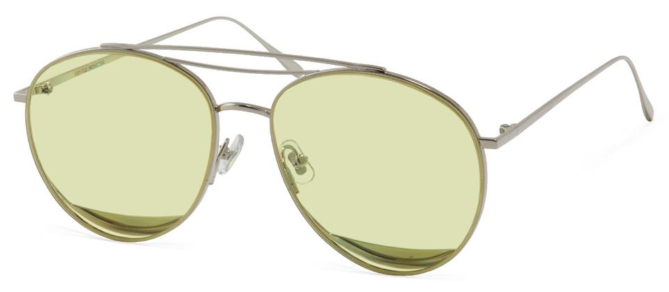 950abc9f50f2 Gentle Monster Yellow Odd Odd Silver Frame with Lenses Sunglasses ...