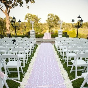 White 3000 Silk Rose Petal More Color Available Centerpieces Table Tap Aisle Runner