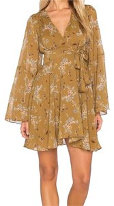 Free People short dress toffee combo on Tradesy