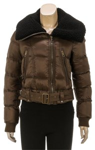 Burberry Olive Green Womens Jean Jacket