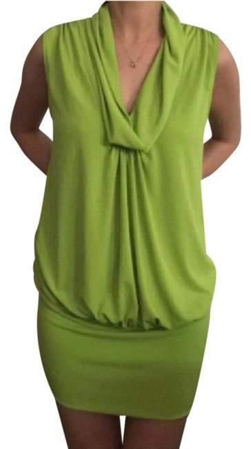Item - Lime Green Short Night Out Dress Size 4 (S)
