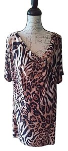 Lane Bryant Plus Animal Print Sexy Dress