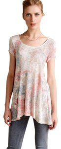 Anthropologie Slight Glimmmer Pastels Top NWT Pastels