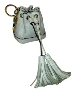 Rebecca Minkoff Mini Drawstring Bucket Pouch Key Chain