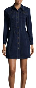 Burberry short dress Dark indigo Brit Pippi Jean on Tradesy