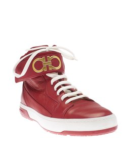 Salvatore Ferragamo Night Red Ghw Leather Red,Gold Athletic