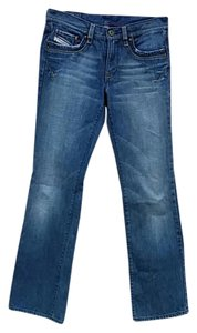 Diesel Boot Cut Jeans-Medium Wash