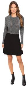 Valentino short dress Black / Grey on Tradesy