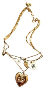Juicy Couture Layered Charm Necklace