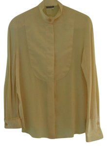 Giorgio Armani Vintage Button Down Shirt cream