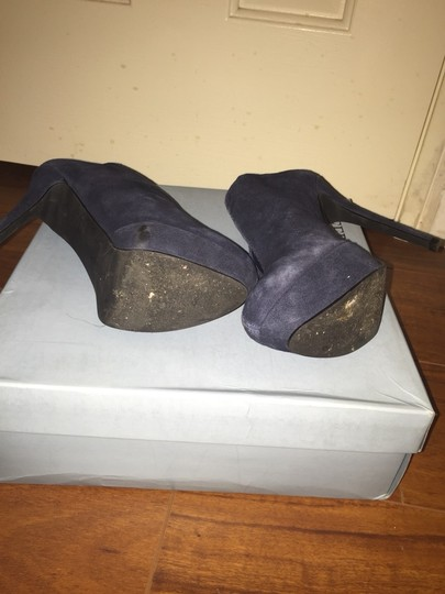 Jeffrey Tyler Navy Blue Pumps
