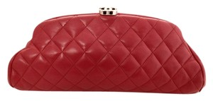 Chanel Hot Pink Clutch