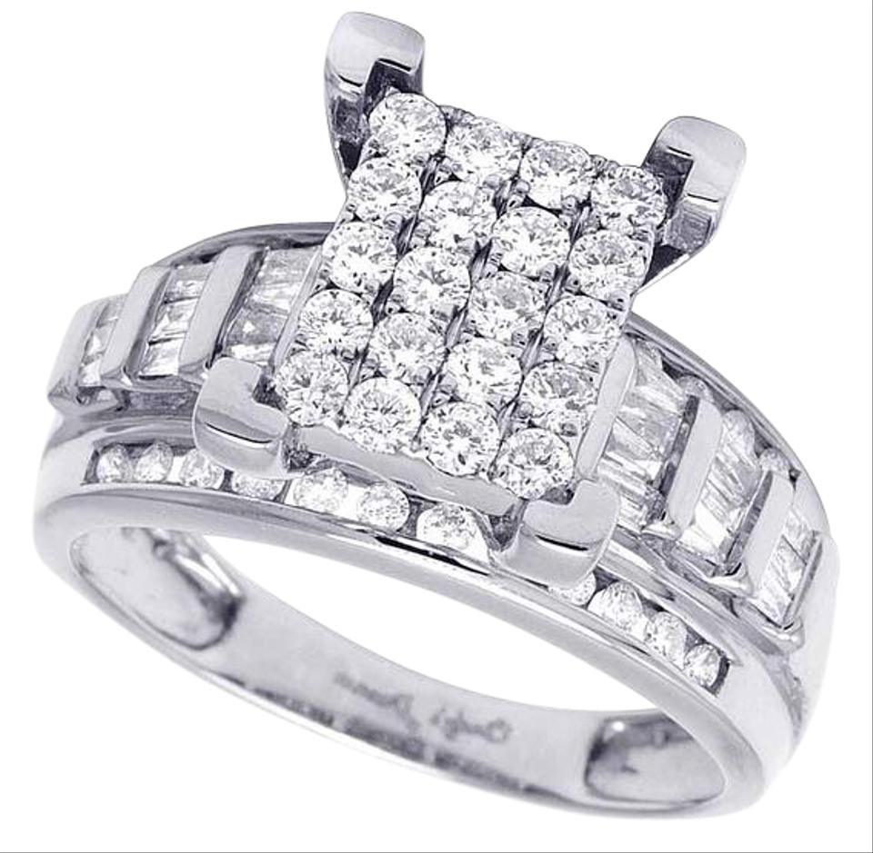 ring bridal cinderella rings carriage diamond in center howard ds s products engagement