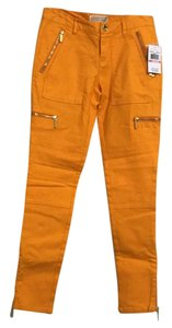 MICHAEL Michael Kors Skinny Pants yellow