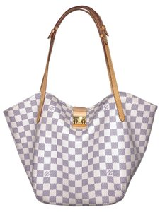 Louis Vuitton Damier Pm Neverfull Tote in Damier Azur