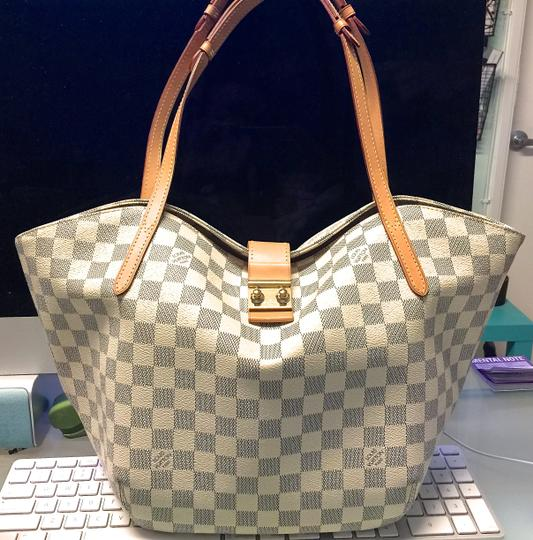 Louis Vuitton Neverfull Tote in Damier Azur