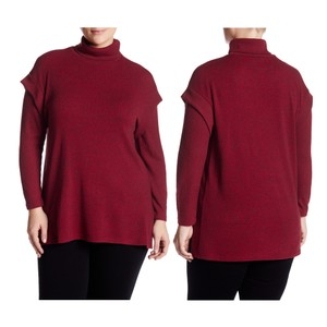 Olivia Sky Plus Size Turtleneck Sweater