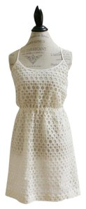 Madewell short dress natural Lace on Tradesy