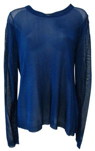 AIKO Light Jewel Tone Draped Casual Sweater