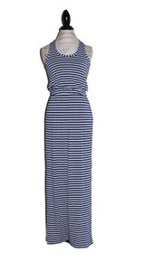 grey, cove blue Maxi Dress by J.Crew