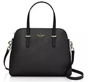 Kate Spade Cedar Maise Satchel in Black