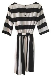 Vince Camuto Flattering Striped Dress