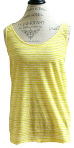 J.Crew Top Yellow and white
