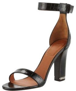 Givenchy black silver Sandals