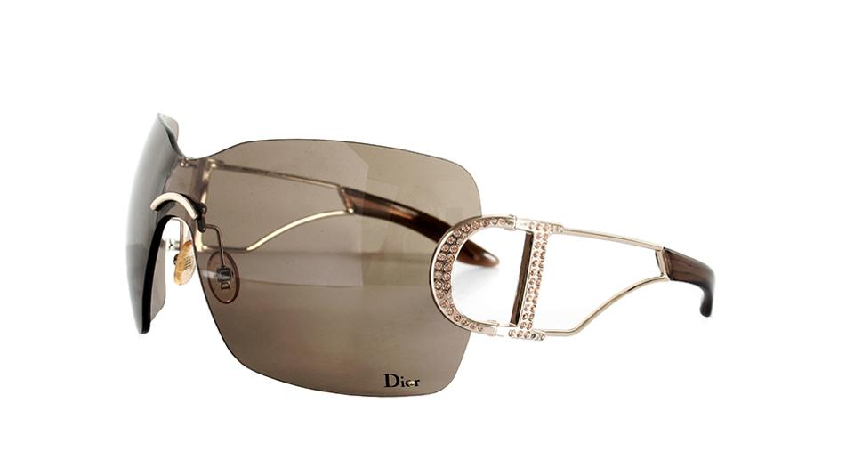 7a56d47f7d5 Dior Dior DIORLY 1 Sunglasses with Crystals Image 0 ...