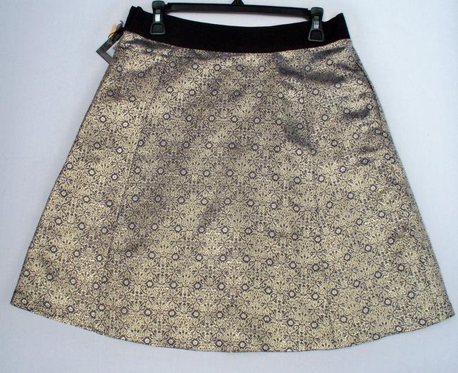 Narciso Rodriguez Skirt Gold