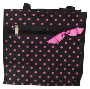 Other Tote in Black and Pink