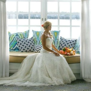 Allure Bridals Allure Couture 7 Layer Lace In Ivory Wedding Dress
