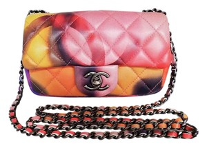 Chanel Dust Cover Auth. Card Cross Body Bag
