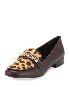 Tory Burch Brown Leopard Flats
