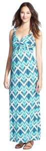Tart Tart Water Chevron Maternity Maxi Dress