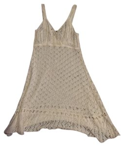 Nanette Lepore short dress Off White White Crochet Lace Swim on Tradesy