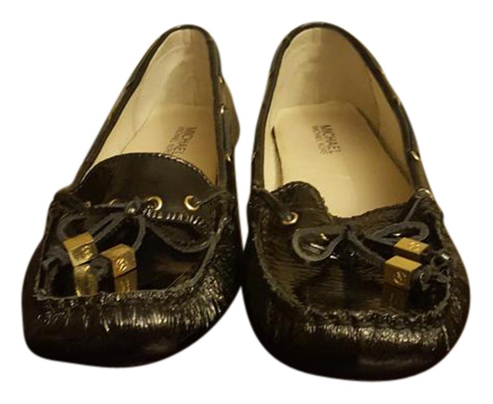 27033a9ed Michael Kors Black Patent Moccasin Style Flats. Size: US 8.5 Regular (M ...