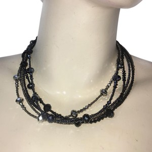 Dillard's Beaded layered Necklace